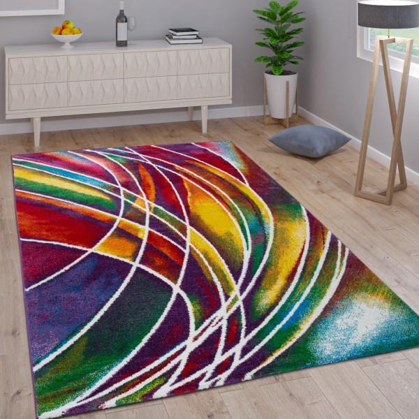 Tapis Moderne Mélange Multicolore