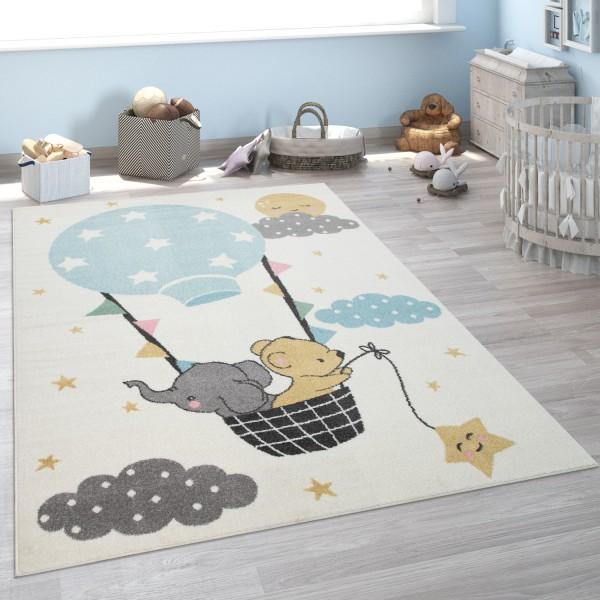 Tapis Pour Enfant Chambre D'Enfant Éléphant Ours Lune